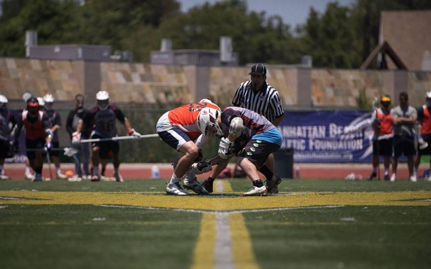 lacrosse face-off