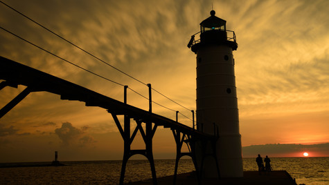 manistee north pierhead light, michigan