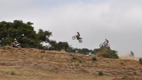dirt leaping