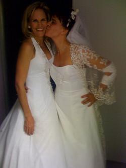 Tracey Ullman's bride