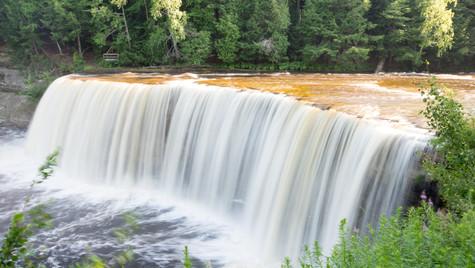 tahquamenon falls, upper peninsula michigan