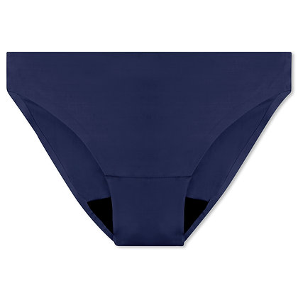 Women's Bliss Seamless Period Underwear - Bikini | Navy