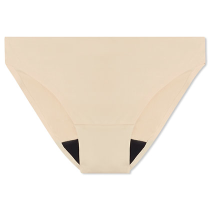 Teen Bliss Seamless Period Underwear - Bikini | Nude