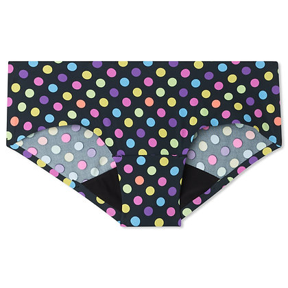 Teen Bliss Seamless Period Underwear - Hipster | Party Polka