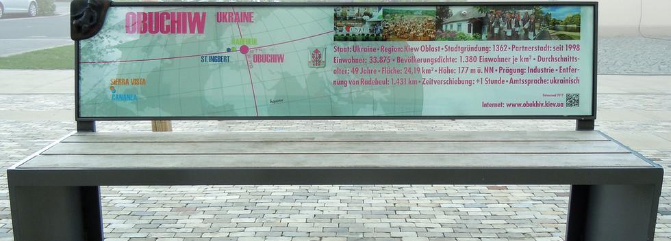 """""""Datenbank-OBUCHIW"""" Fertiges Objekt zur Präsentation von Städtepartnerschaften"""