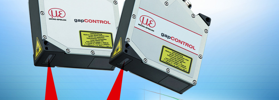Sensorbaureihe gapCONTROL