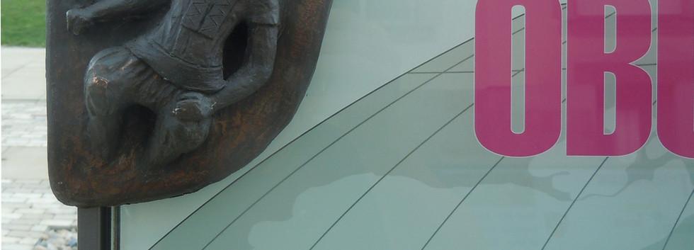 """Detail """"Datenbank-OBUCHIW"""" Fertiges Objekt zur Präsentation von Städtepartnerschaften"""