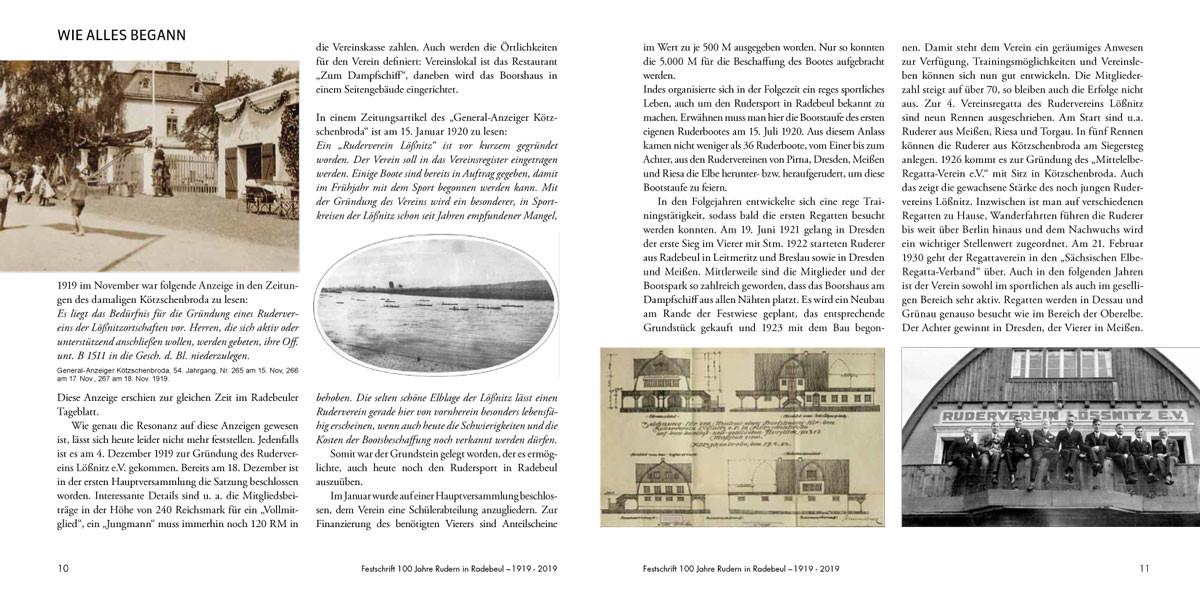 Inhaltsseiten Festschrift