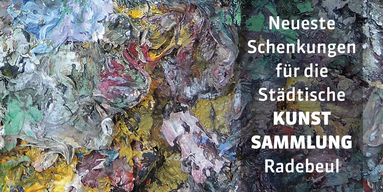 Flyer 25 Jahre Kunstsammlung Radebeul
