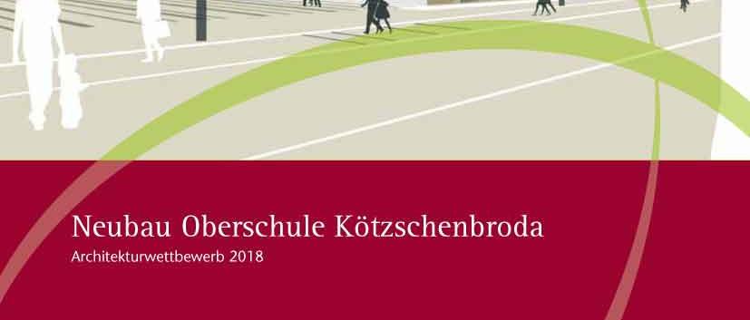 Wettbewerbsbroschüre, Titelseite Dokumentation der Preisträger und Wettbewerbsteilnehmer  eines Architekturwettbewerbes