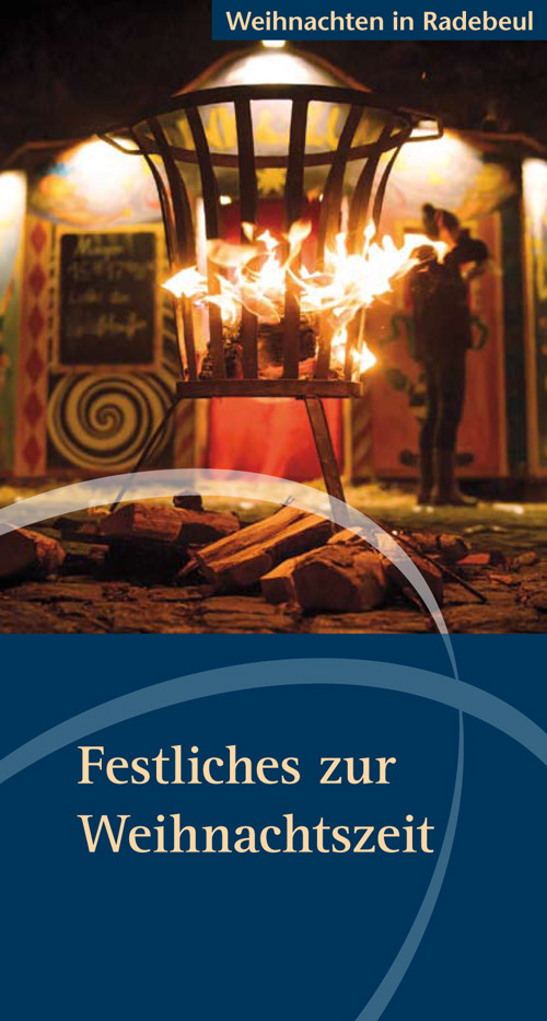Programmheft Weihnachtliche Veranstaltungen in Radebeul