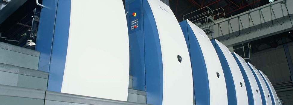 Bogenoffset-Druckmaschine RAPIDA 105