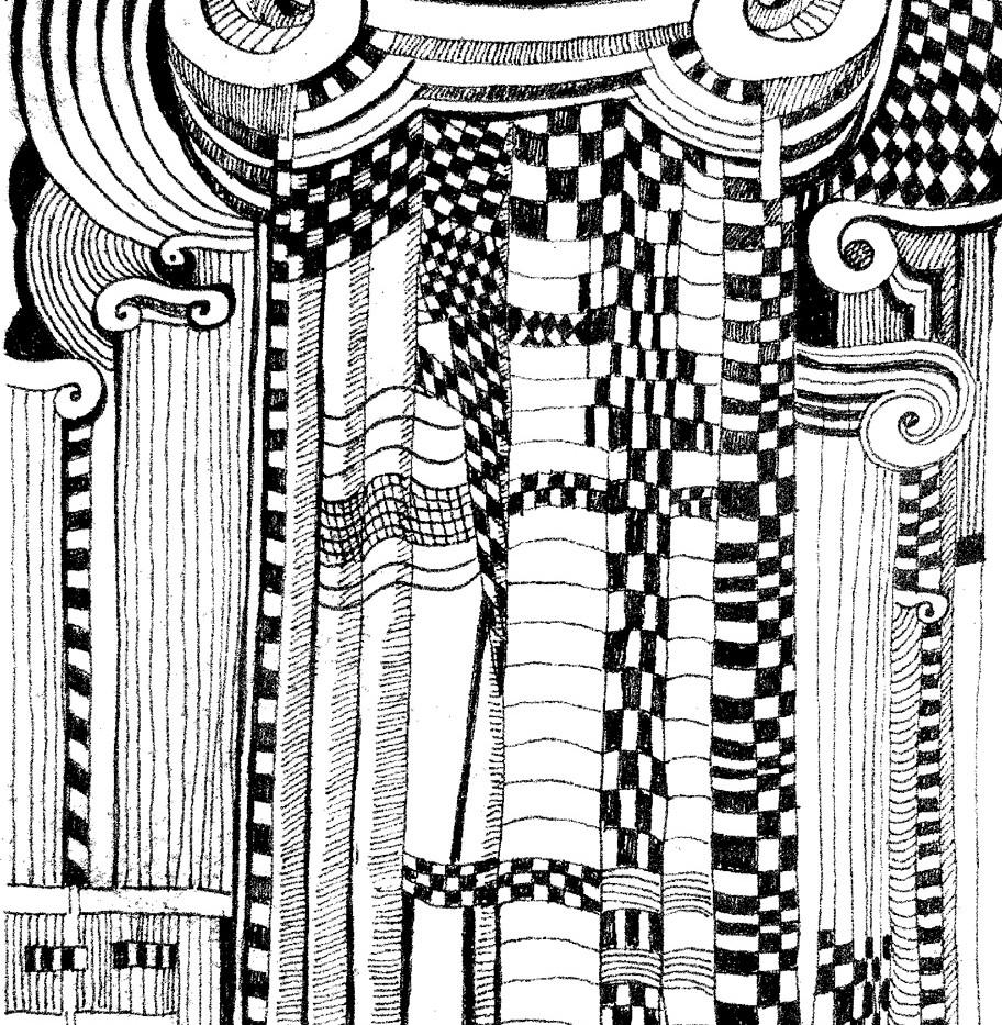 Federzeichnung Antikes