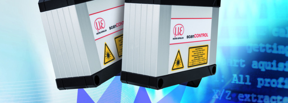 Sensor scanCONTROL-LLT30xx