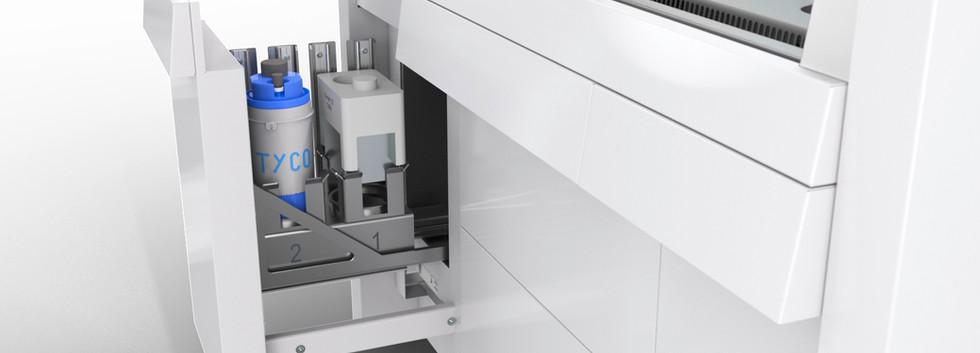 Sicherheitswerkbank SWB15 Detail Schublade