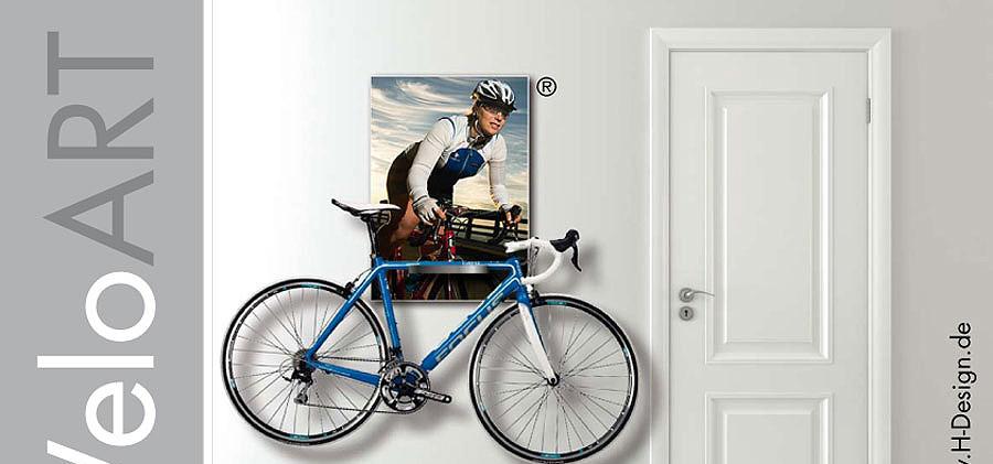 Fahrradhalterung Repräsentative Möglichkeit zur Aufbewahrung hochwertiger Fahrräder