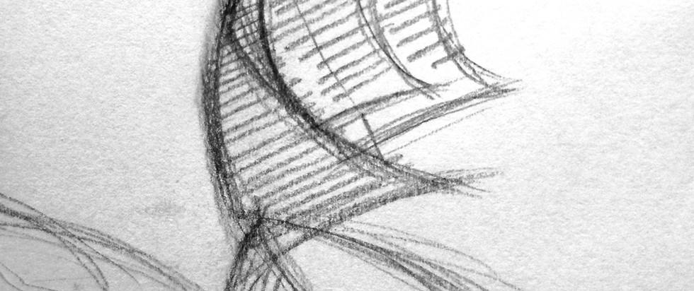Wort-Bildmarke Entwurfsskizze