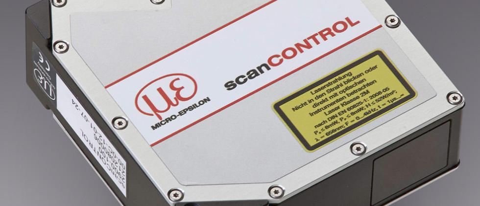 Laserscanner scanCONTROL