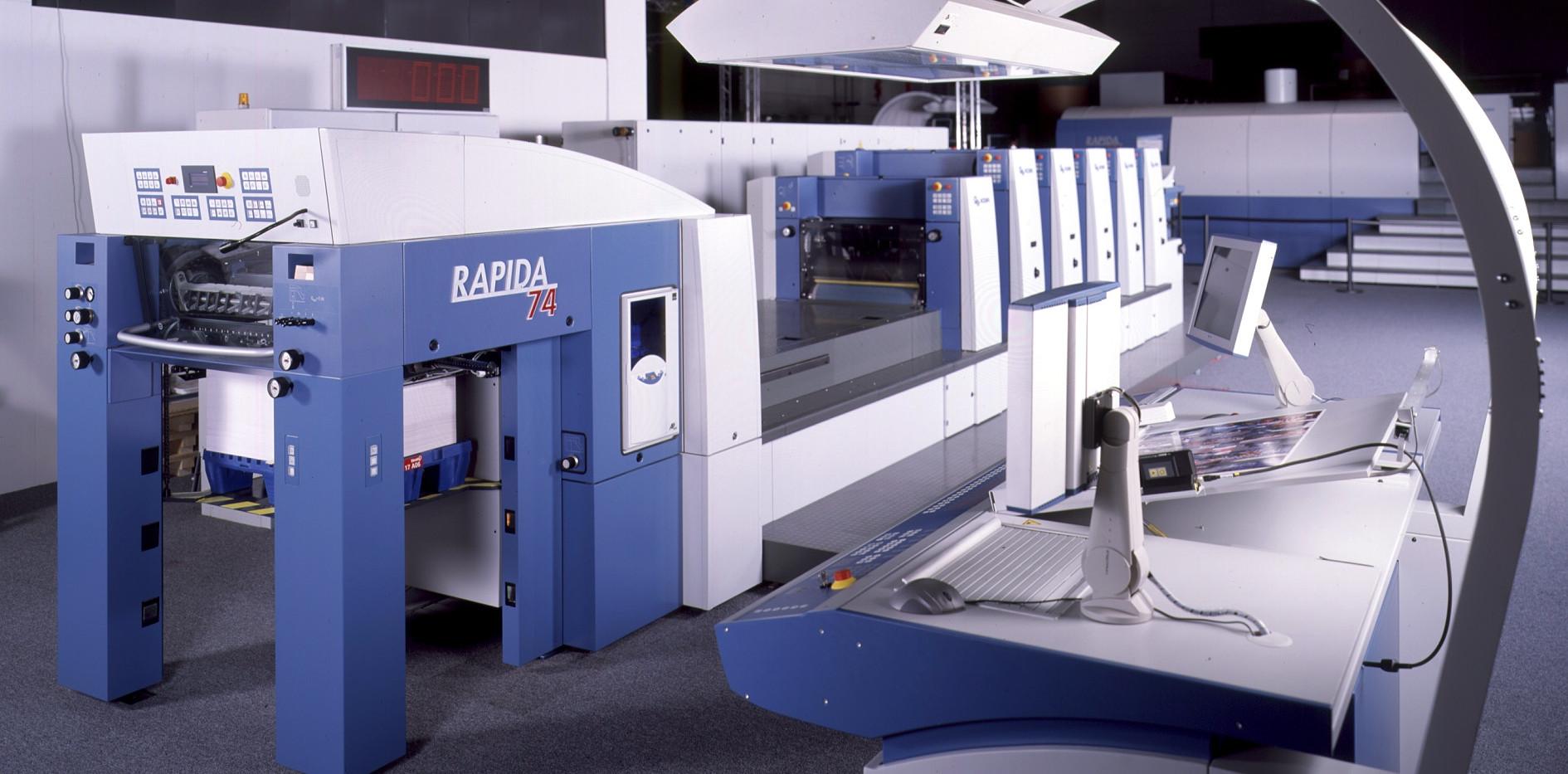 Bogenoffset-Druckmaschine RAPIDA 74