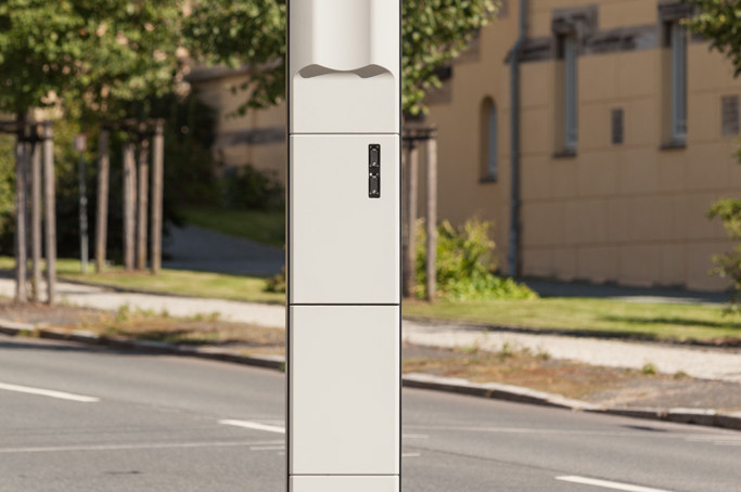 Verkehrsüberwachungssystem M5 Rückseite