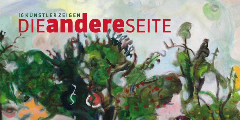Einladungsfaltkarte Ausstellung zum Open Air-Sommerprojekt in Röhrsdorf