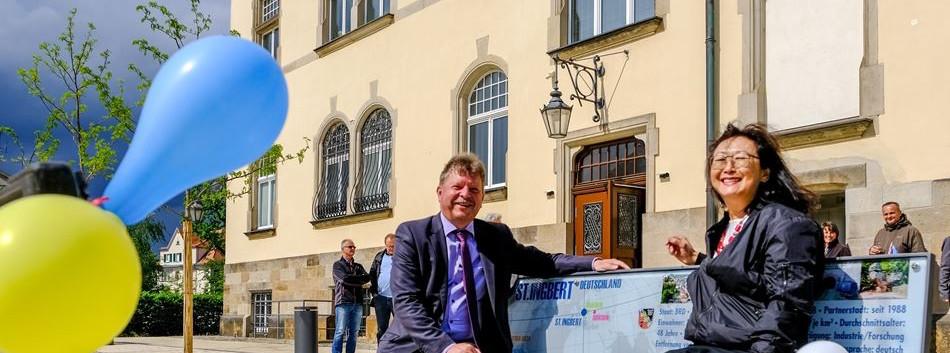 """Datenbank"" Einweihung durch Stadtoberhaupt"