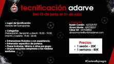 Programa de Tecnificación junio y julio 2020.