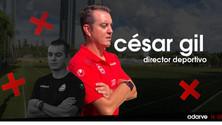 César Gil nuevo Director Deportivo del Club.