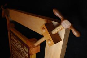 Wood Mosaic in Mechanical Frame 2014 (detail)