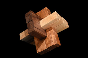 Triple Cross III Sculpture Puzzle