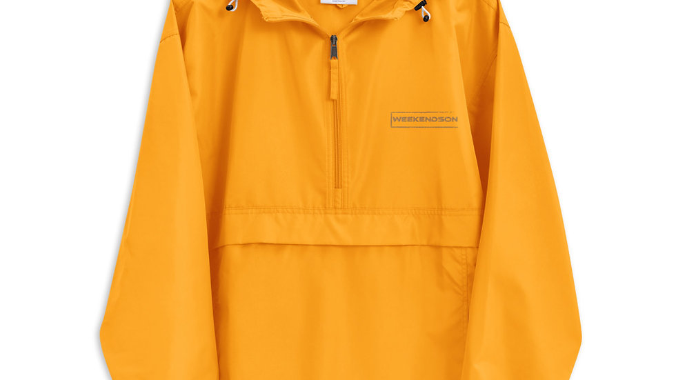 Weekendson Embroidered Champion Packable Jacket