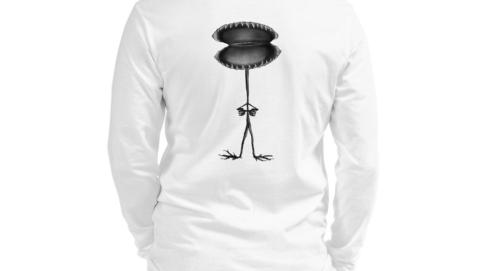 """Weekendson """"The Trap"""" Characters Unisex Long Sleeve Tee"""