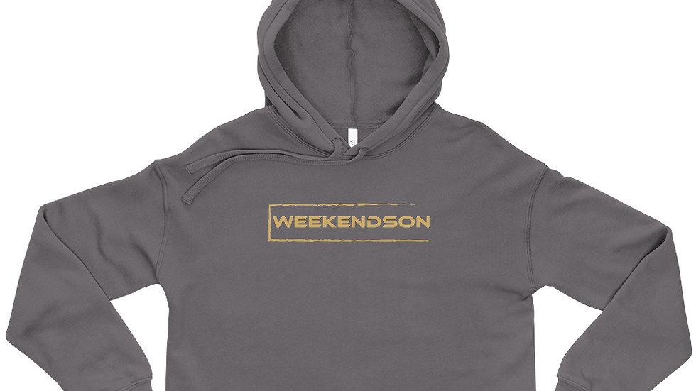 Weekendson Crop Hoodie