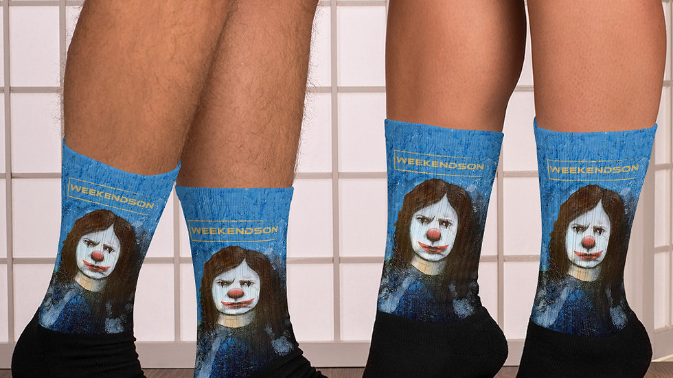 "Weekendson ""The Clown"" Socks"