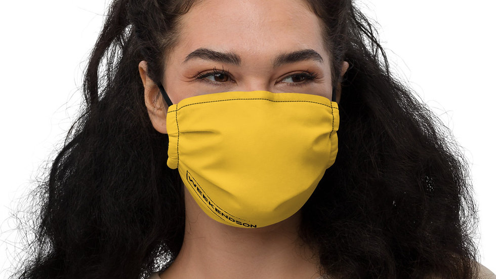 Weekendson Yellow Face mask