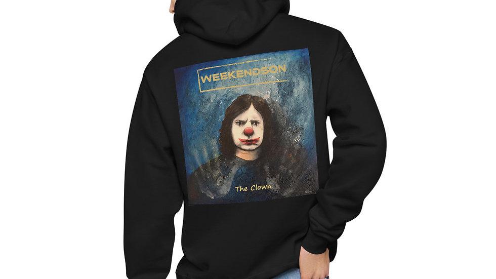 """Weekendson """"The Clown"""" Unisex fleece hoodie"""