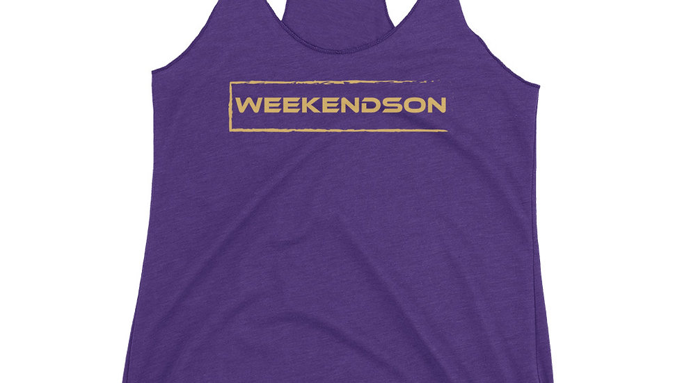 Weekendson Women's Racerback Tank