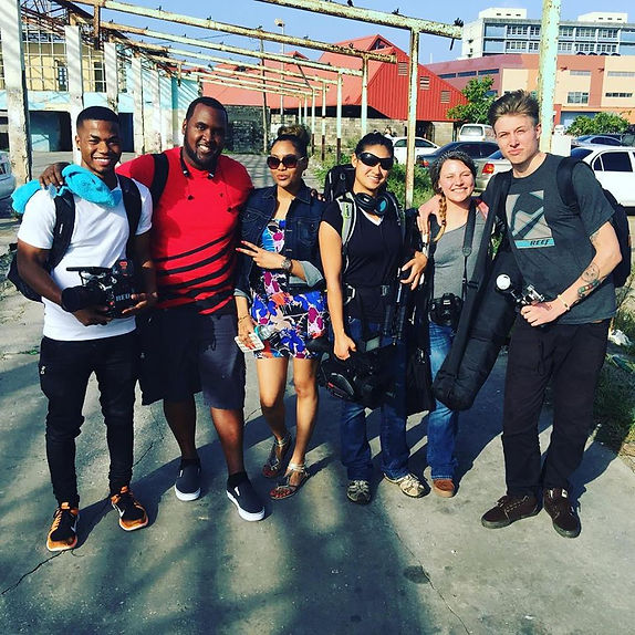Canyon View Media Crew in Barbados