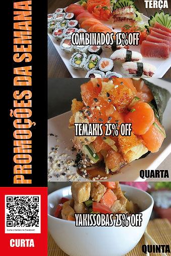 Promoções Kentaro Sushi