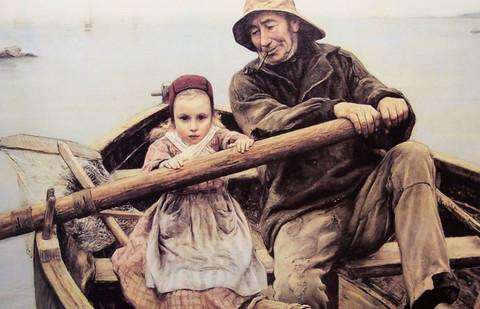 Grab the oar?