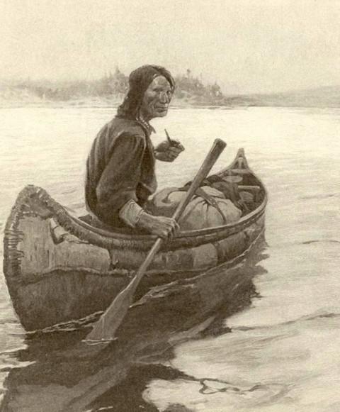 Your canoe?