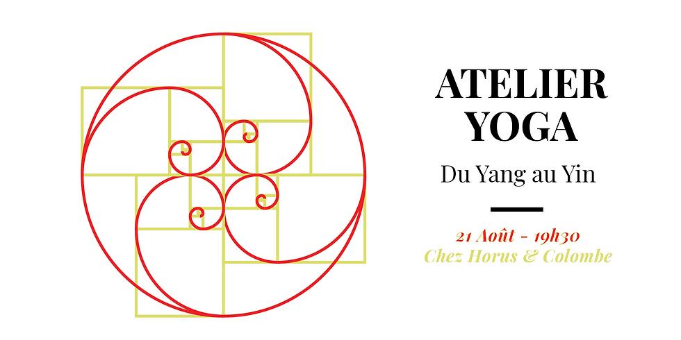 Atelier YOGA : Incarner l'harmonie Yang/Yin