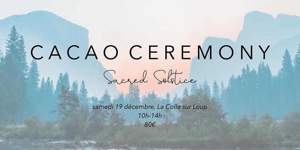 Cacao Ceremonie - Solstice Sacré