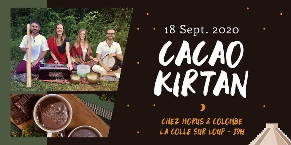 Soirée Cacao Sacré & Kirtan