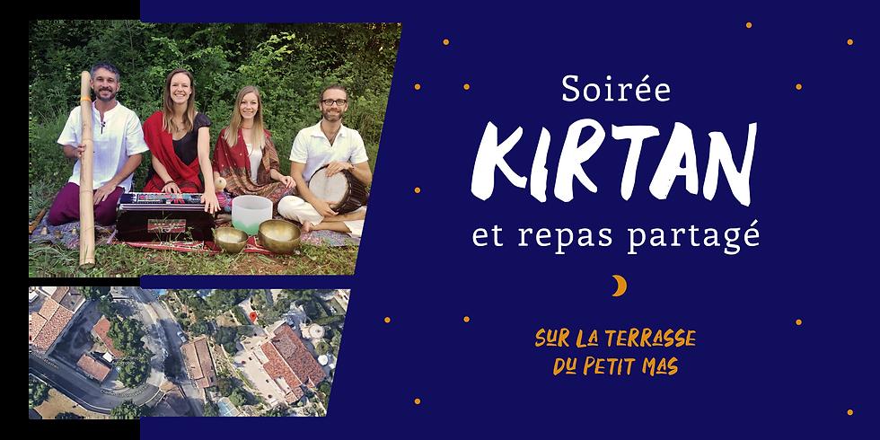 Soirée Kirtan + Buffet participatif en plein air