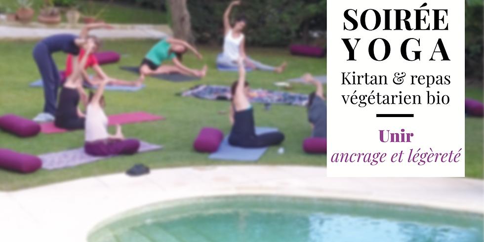 ◒ Yoga, Mantras et Dîner végétarien ◓