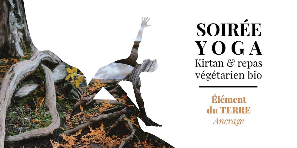 Soirée Yoga, Mantras, Dîner végétarien