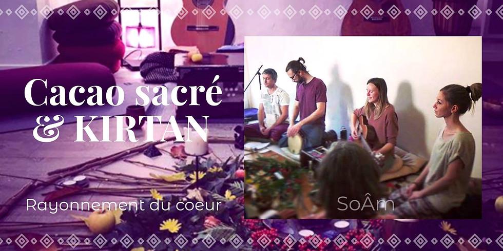 Cacao & Kirtan : Rayonnement du coeur