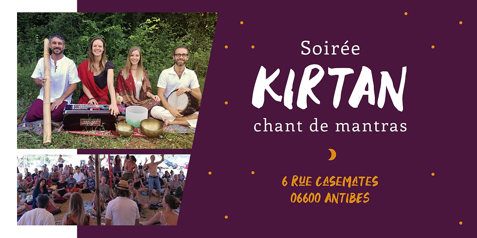 ☽ ♪ Kirtan d'été à Antibes ♪☽