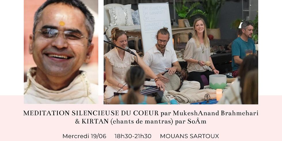 Méditation Silencieuse du Coeur & Kirtan